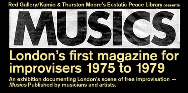 Thurston Moore & Red Gallery / Kamio - Present: MUSICS (1975-79) - Exhibition & Live PerformanceWithGuitars