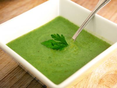 Totally Healthy Broccoli Soup You Can Tell By Its Color That There