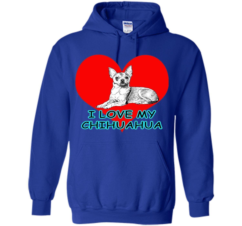 Lotta Shirts I Love My Chihuahua Dog Pet T Shirt