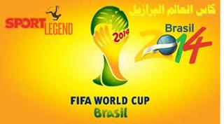 كأس العالم البرازيل 2014 World Cup Fifa World Cup World