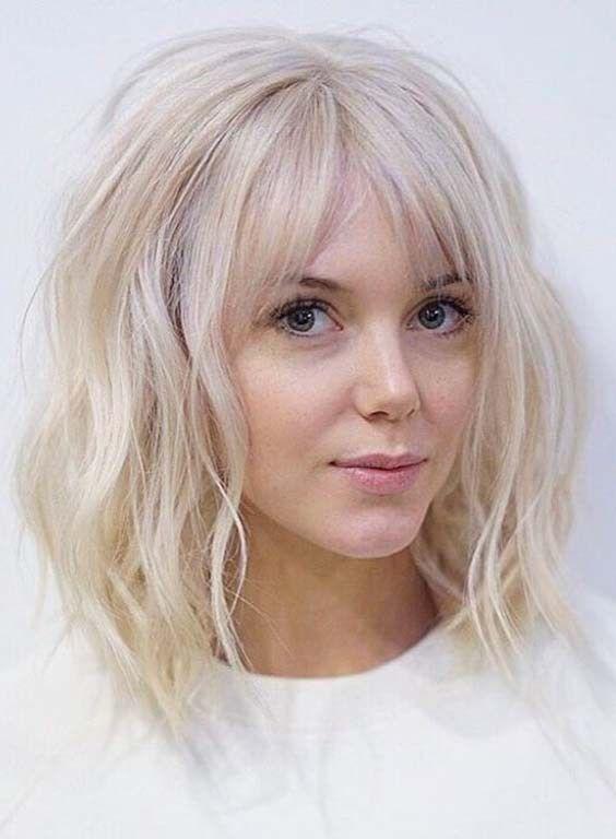 Inspirierende Kurze Blonde Frisuren 2018 Frisuren Lob