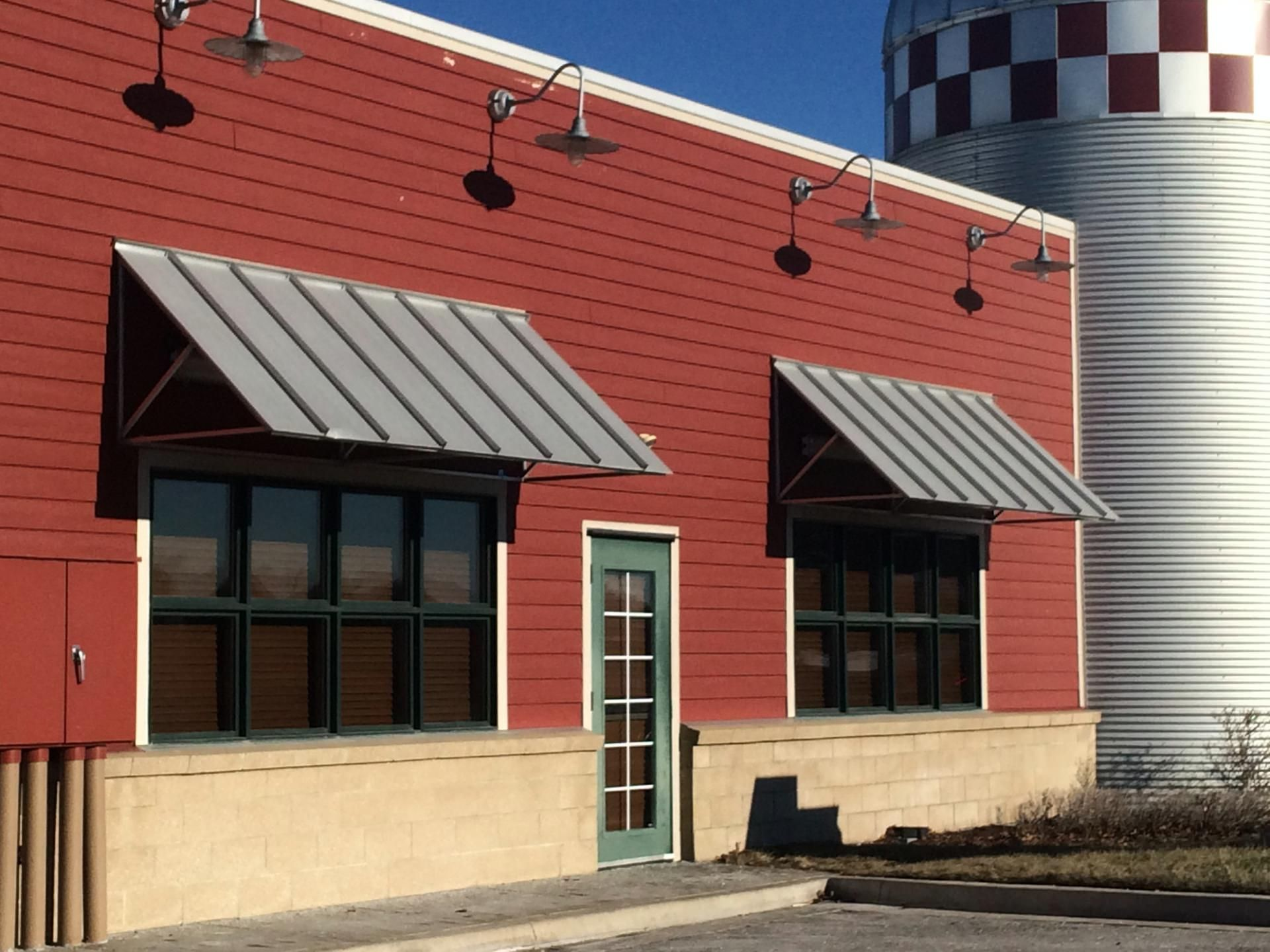seattle commercial awning photos industrial canvas metal awnings canopy building incredible