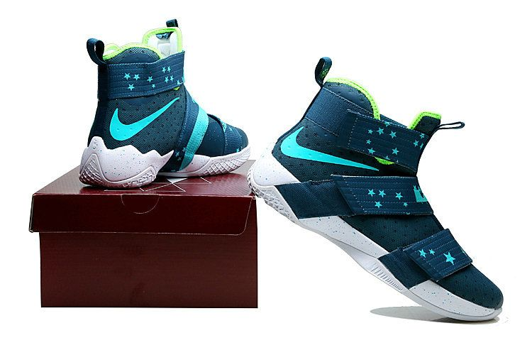 new arrivals adb6f 53c69 Nike Zoom Nike Lebron Soldier 10 X Ink Blue Sport Teal