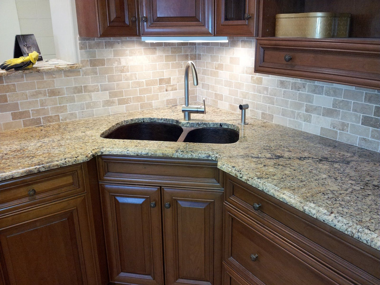 Ideas For Kitchen Backsplashes With Granite Countertops Tile Backsplashes With Granite Countertops Tile