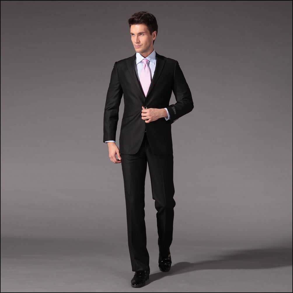 men black suit - Google Search | Black Suit | Pinterest | Black ...