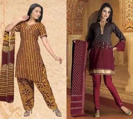 Ropa hindu de mujer moderna - Telas de la india online ...