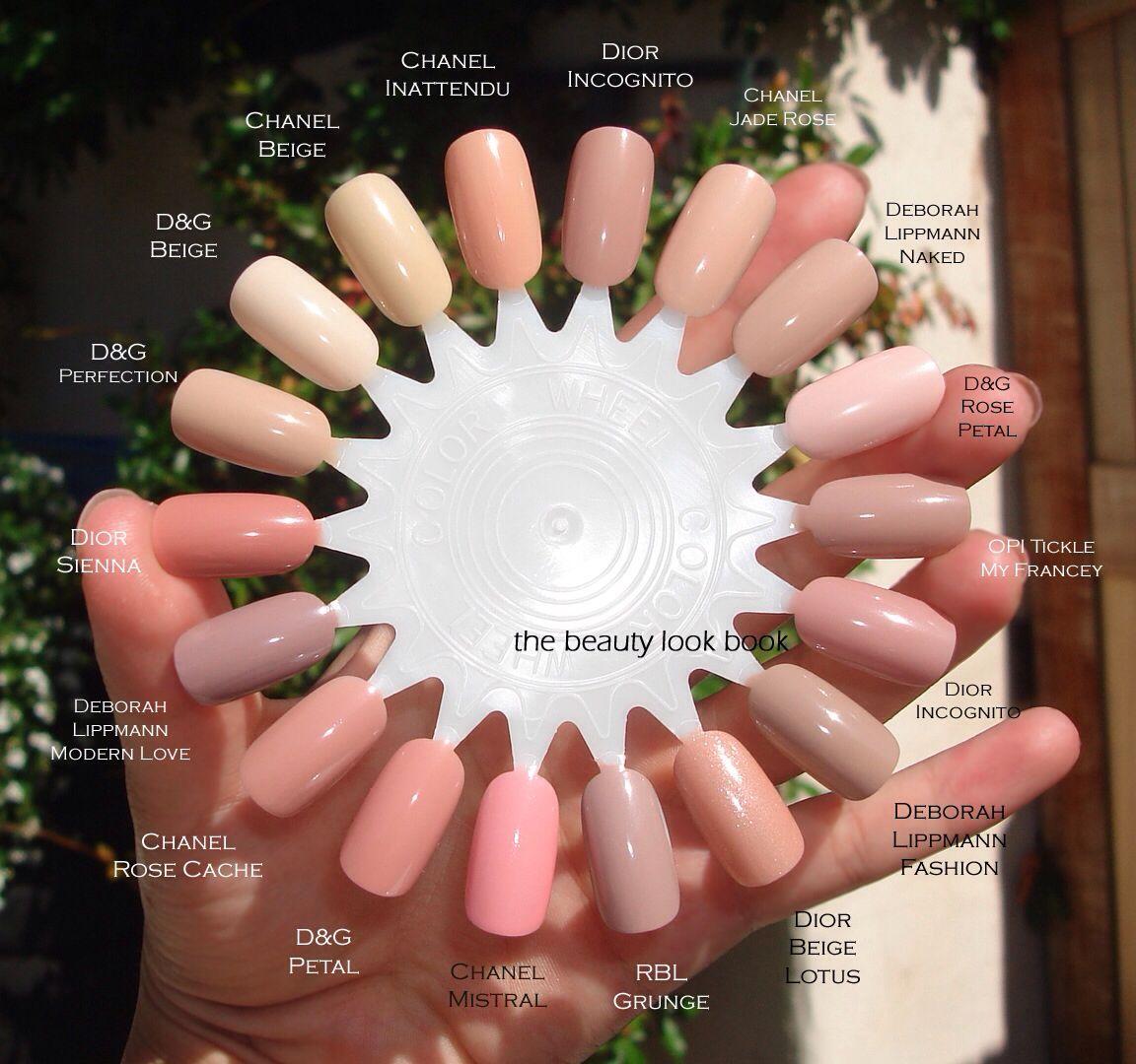 Nail color wheel | GET NAiL\'D HuNNY | Pinterest | French nägel ...