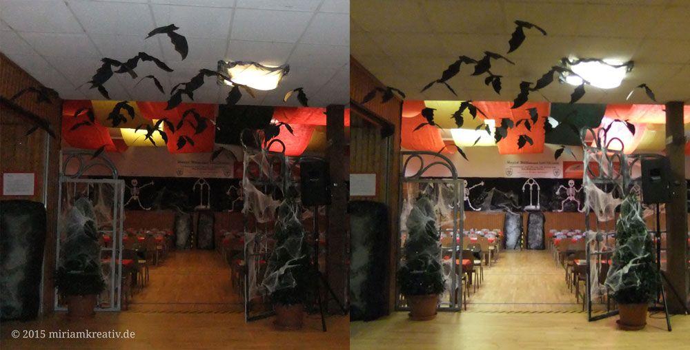 Noch mehr Anregungen für eine Halloween-Party gibt es hier http://miriamkreativ.de/hobbyplotter-projekte/plotten-mit-papier/grusel-hallendeko-teil-2