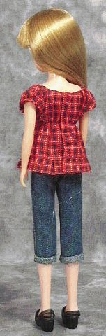 doll shirt pattern - This site has many patterns (but in Japanese)