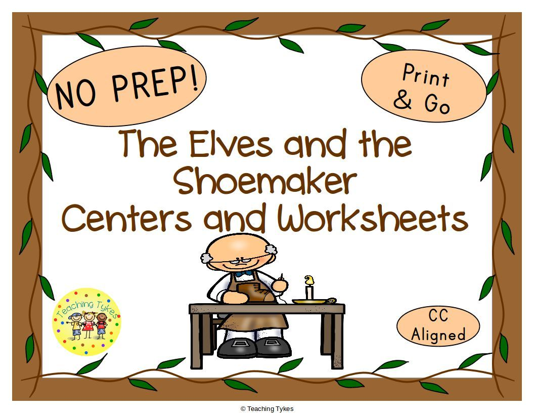 The Elves And The Shoemaker Activities With Images