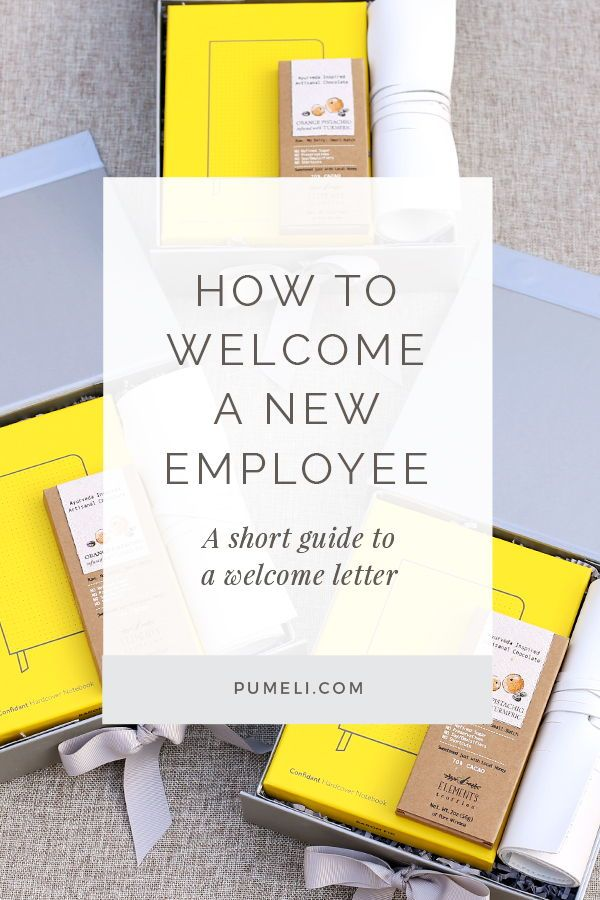 technology company welcome letter to new employees Designers guide it all begins with day one  welcome letter • greet new employees with a  welcome new hires into the company to ensure.