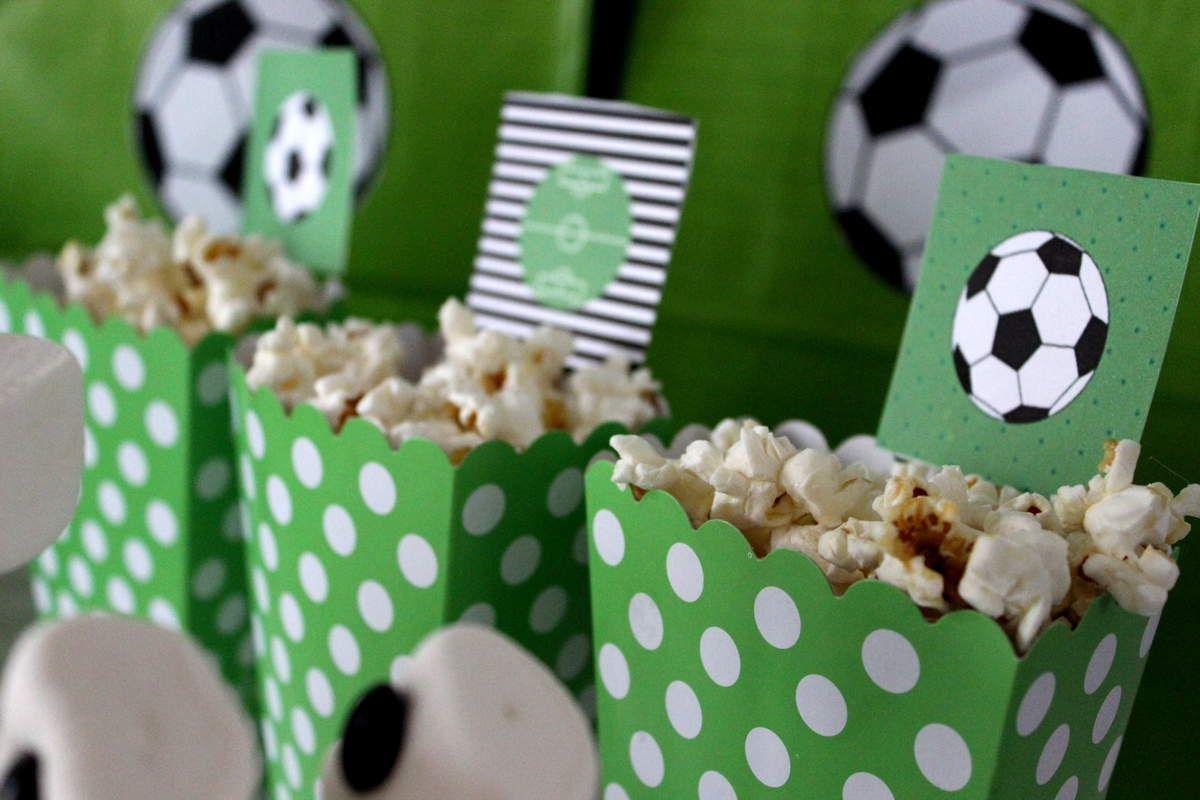 Buffet Anniversaire Football Anniv Pinterest Birthday Party