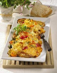 Paprika-Schnitzel-Auflauf Rezept | LECKER