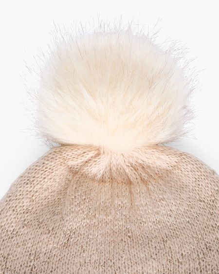 379a2321a46 Chico s Women s Faux-Fur Shine Hat