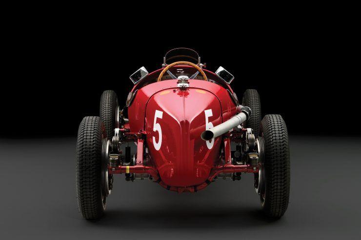 Alfa Romeo P3 Interior