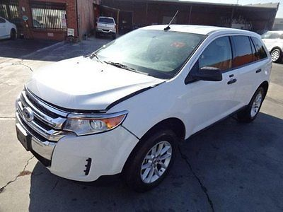 Ebay  Ford Edge Se  Ford Edge Se Salvage Wrecked Repairable Priced To