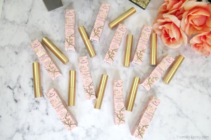 Swatches of the New La Creme Color Drenched Lipsticks Swatches of the New La Creme Color Drenched L