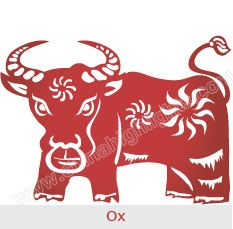 find your personality and see your career health and love prospects in if you were born in an ox year lucky colors numbers and flowers - Chinese New Year 2009