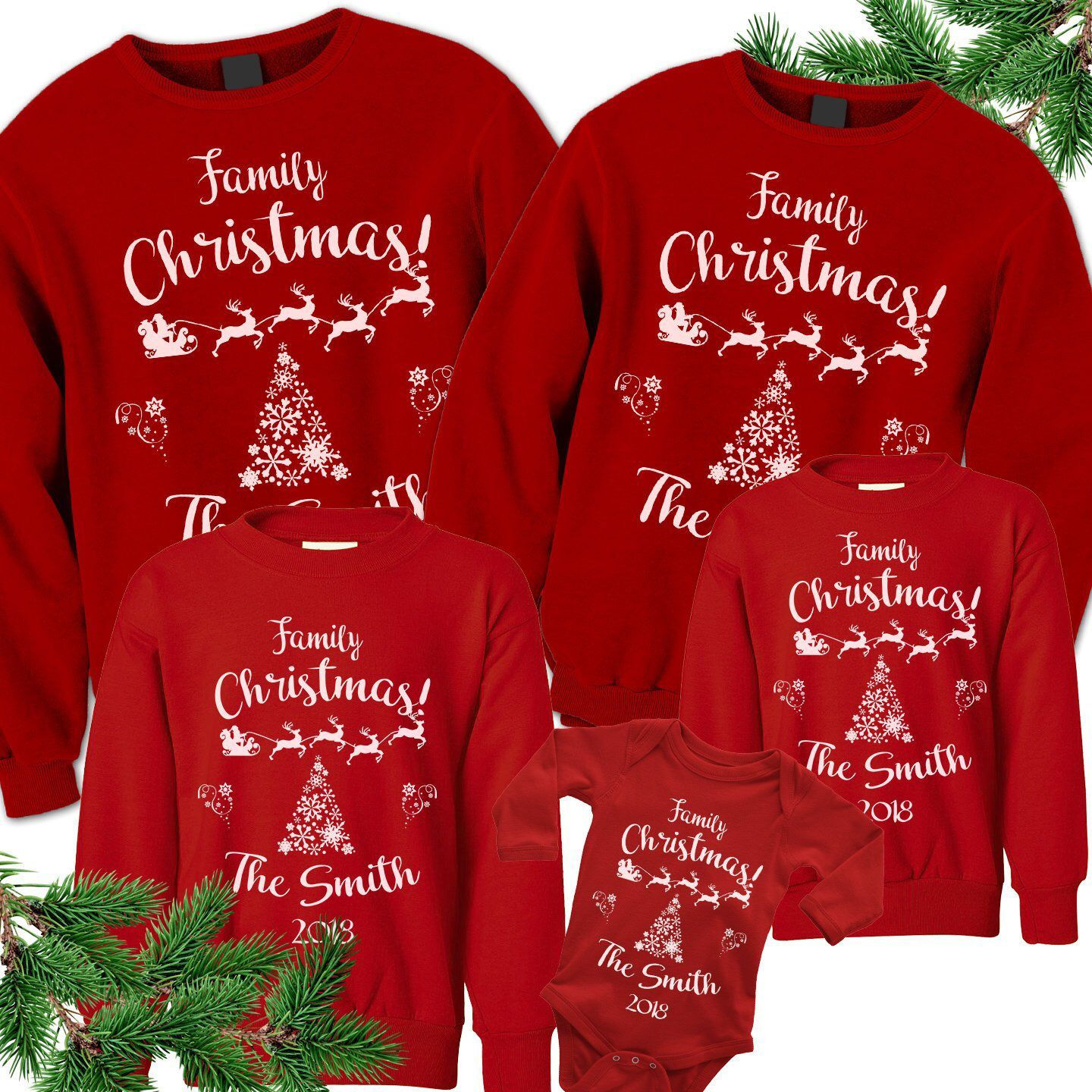 Matching Family Christmas Outfits Matching Christmas 2020 Etsy Family Christmas Shirts Family Christmas Outfits Matching Family Christmas Outfits