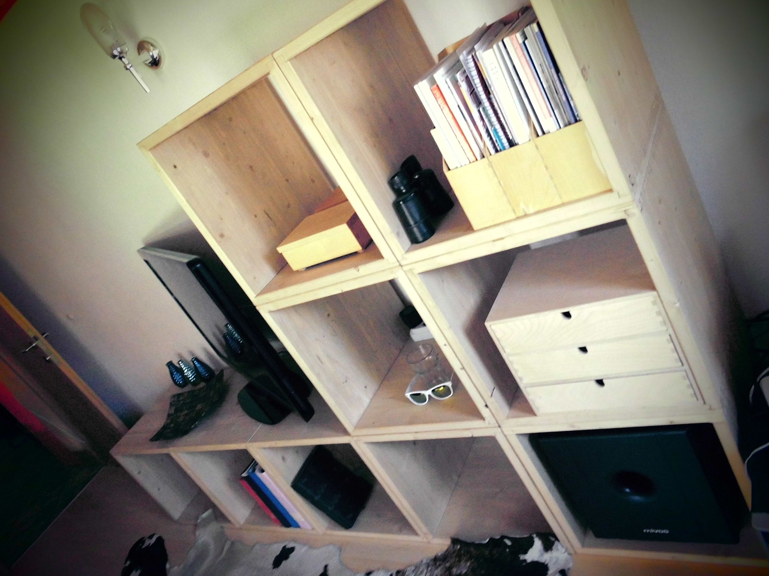 Wohnzimmermöbel aus Massivholz | Holzcubes | Pinterest