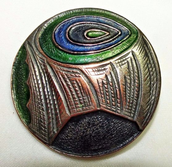 Antique Silver Enamel Art Nouveau Buckle C1907 By William Hair Haseler Liberty Jewelry & Watches
