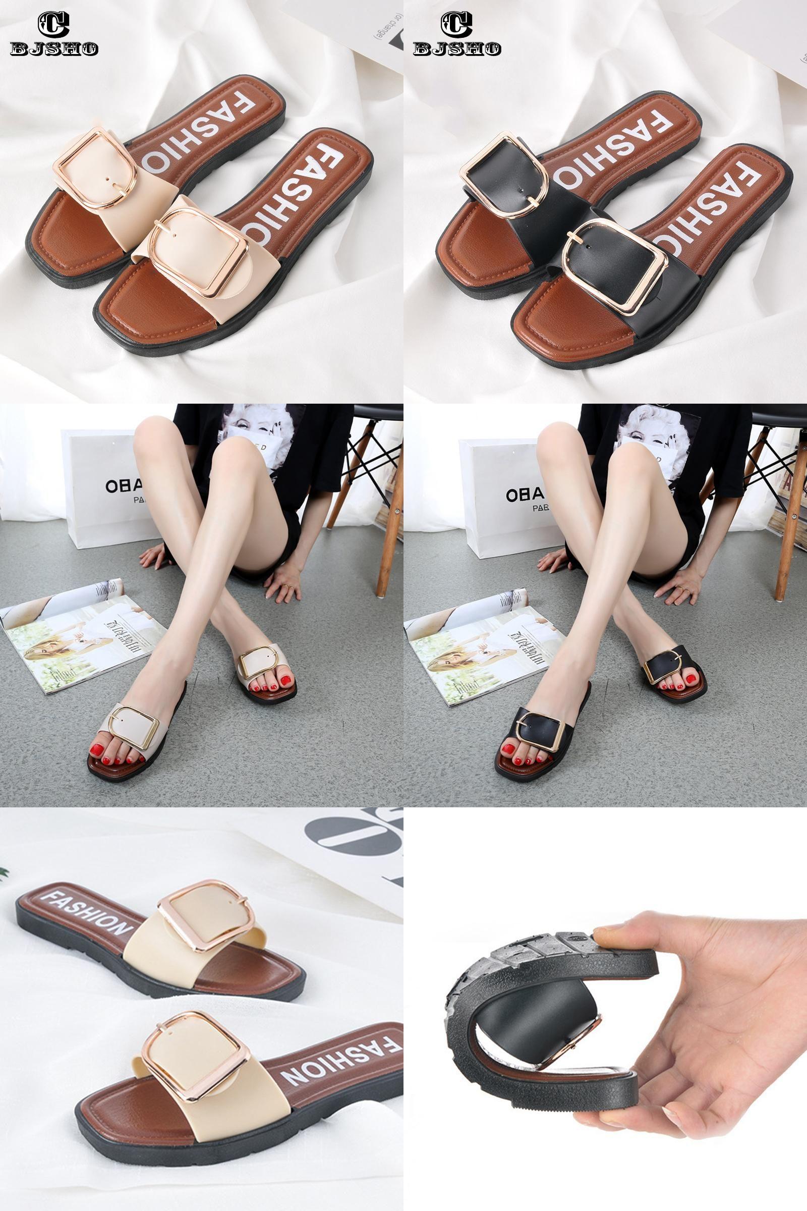 Beach flip flops · [Visit to Buy] CBJSHO 2017 Summer Sandals Women Slippers  Non-slip Basic Sides