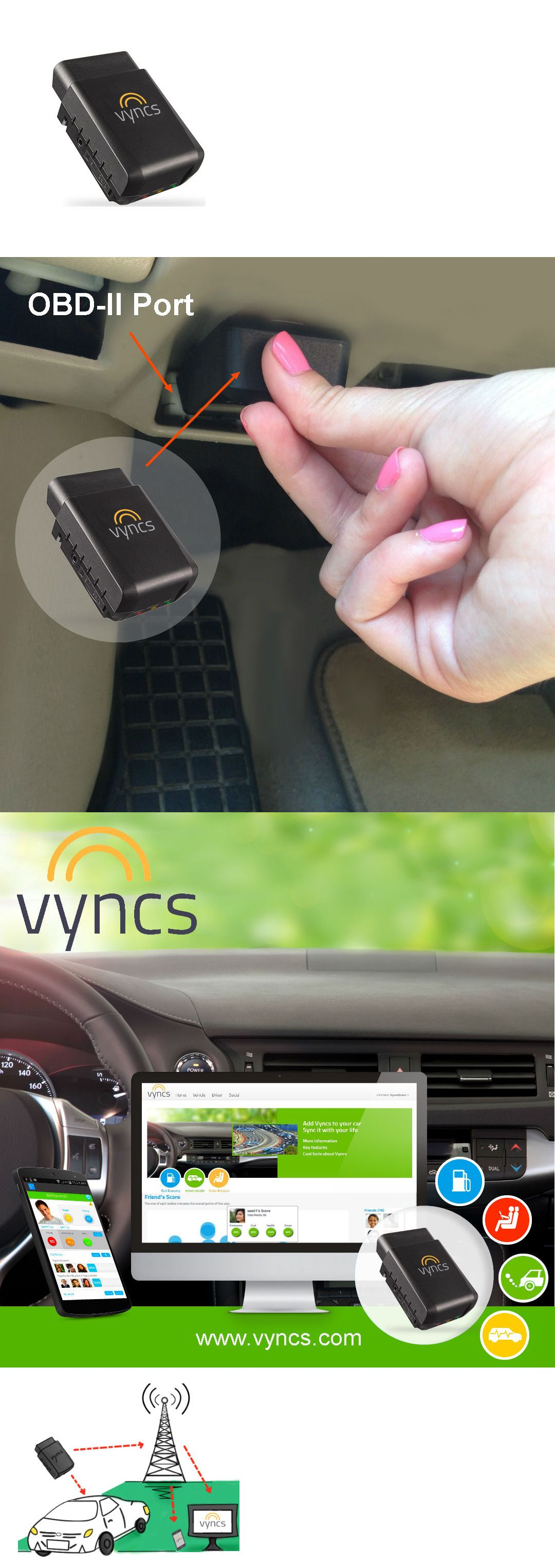 Tracking Devices: Vyncs No Monthly Fee Obd 3G Car Tracker