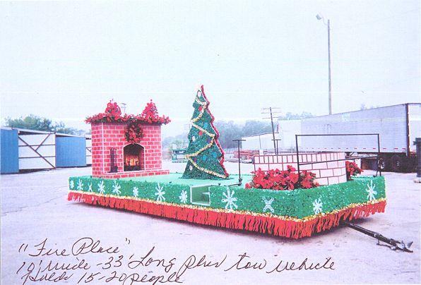 Christmas Parade Float Ideas Fireplace Float Christmas Parade