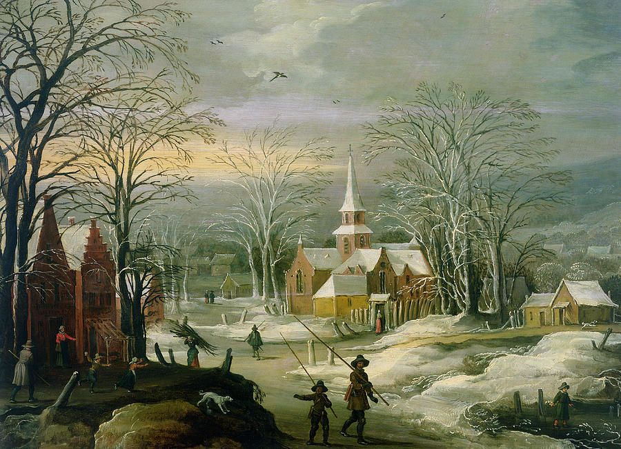 Winter Landscape by Josse de Momper The Younger