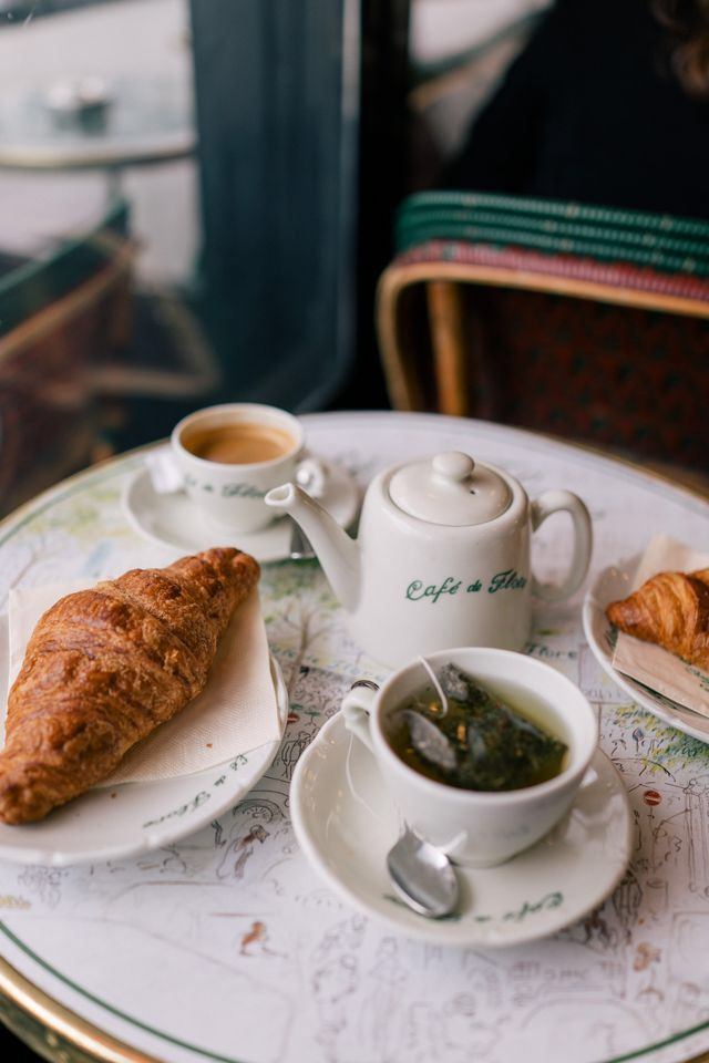 Winter Guide To Paris Food French Cafe Breakfast