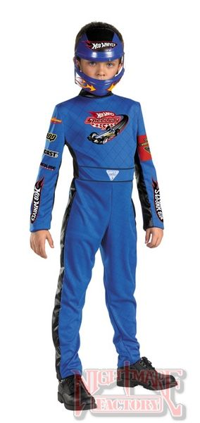 hot wheels race car driver costume quality child size in boys costumes nightmarefactorycom