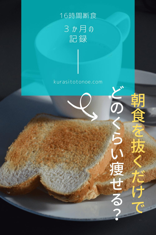 時間 断食 ダイエット 16
