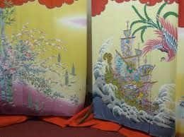 """Résultat de recherche d'images pour """"peinture sur soie kimono"""""""