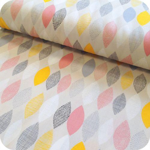 tissu motifs style nordique scandinave spring sampler. Black Bedroom Furniture Sets. Home Design Ideas
