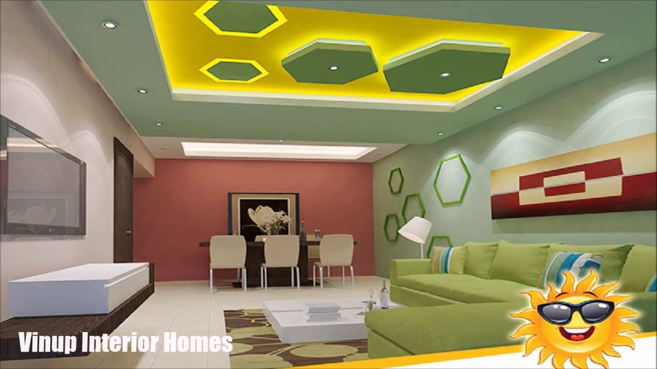 100 False Ceiling Designs For Living Room And Bedroom Inte