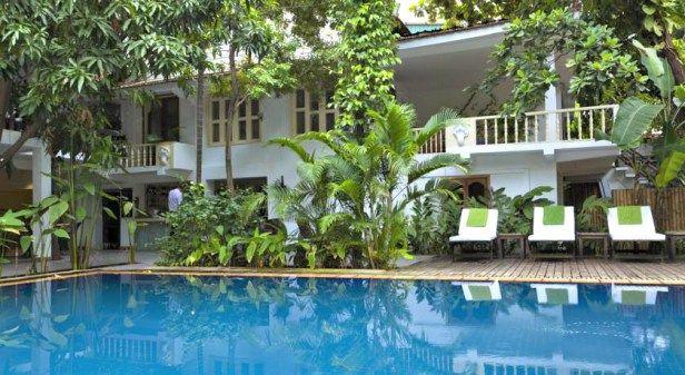 top 5 swimming pools in Phnom Penh Villa Langka Top 10