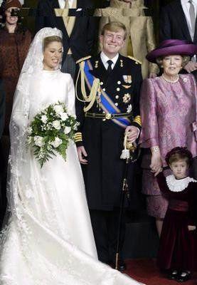 Wedding Prince Willem Alexander Of Orange And Princess Maxima Royal Weddings Princess Maxima Dutch Princess