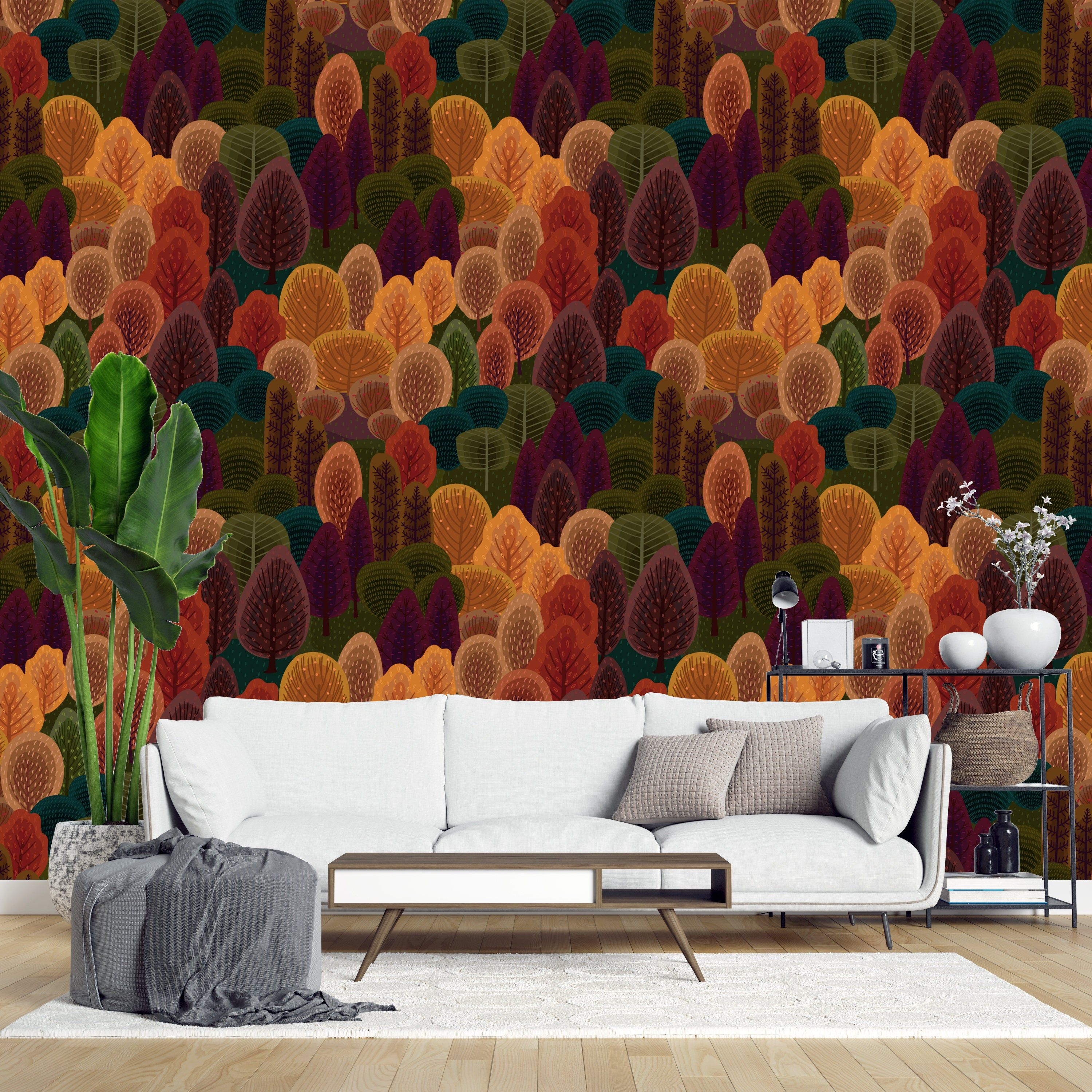 Autumn Peel And Stick Removable Wallpaper