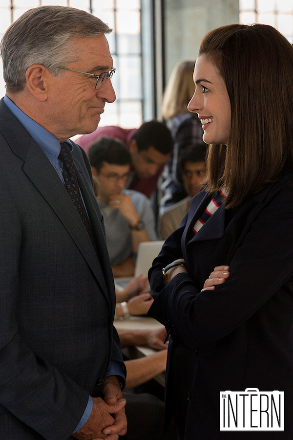 Click to watch the new trailer for THE INTERN now. From