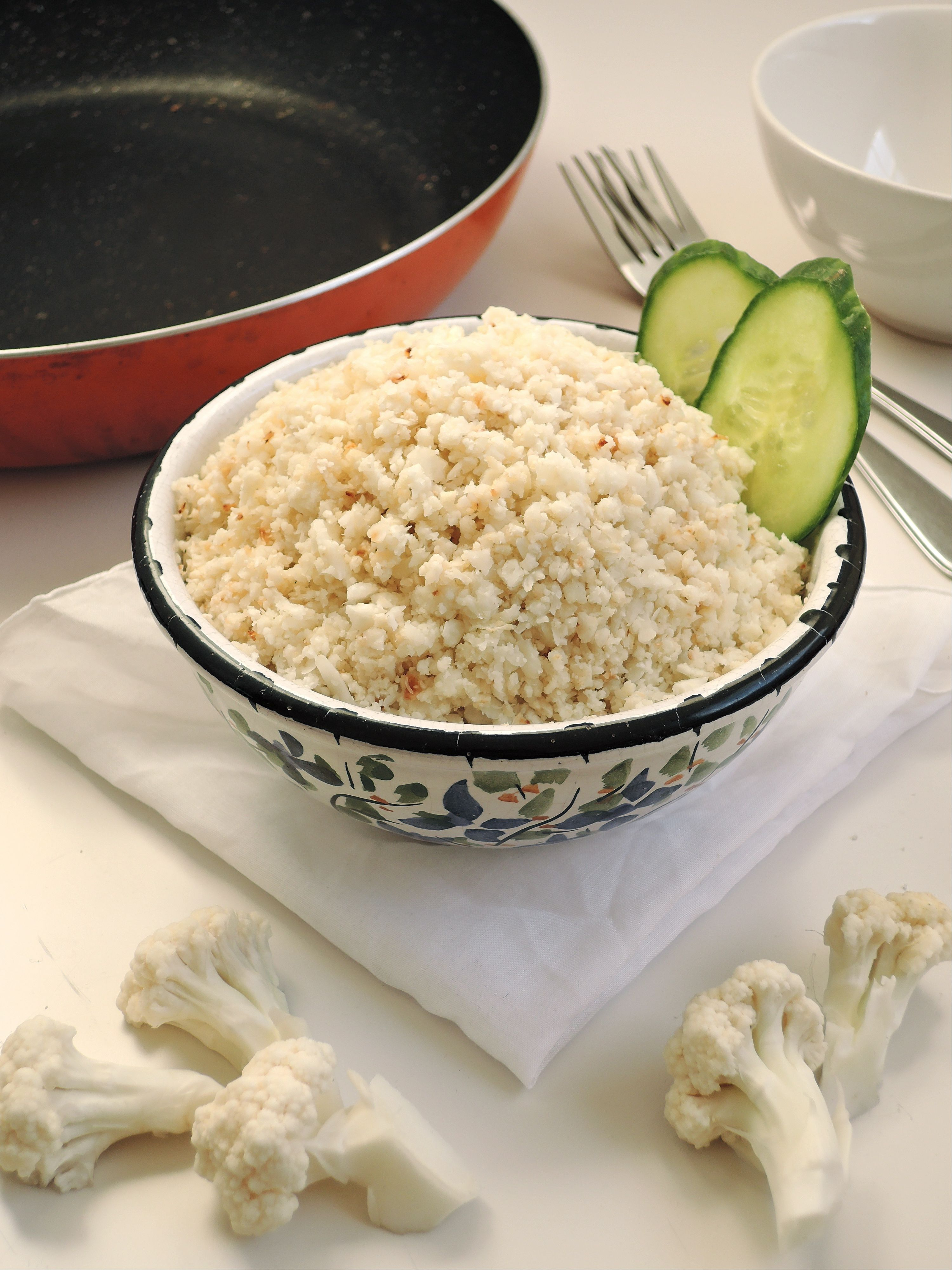 How to make cauliflower rice with a grater or blender add a how to make cauliflower rice without a food processor my food processor is strictly used for my homemade laundry detergent now so i had to give this a try forumfinder Image collections