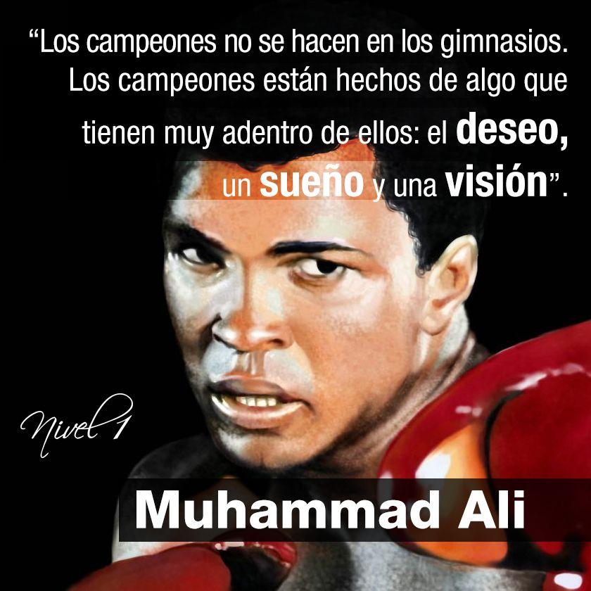 Muhammad Ali Frasescitasquotes Frases Frases Sabias
