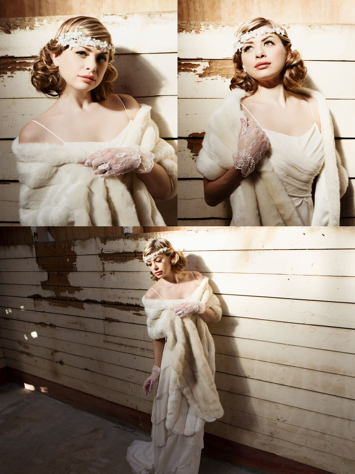 1930s Inspired Bridal Hair and Makeup by Hair Comes the Bride ~ Hair ...
