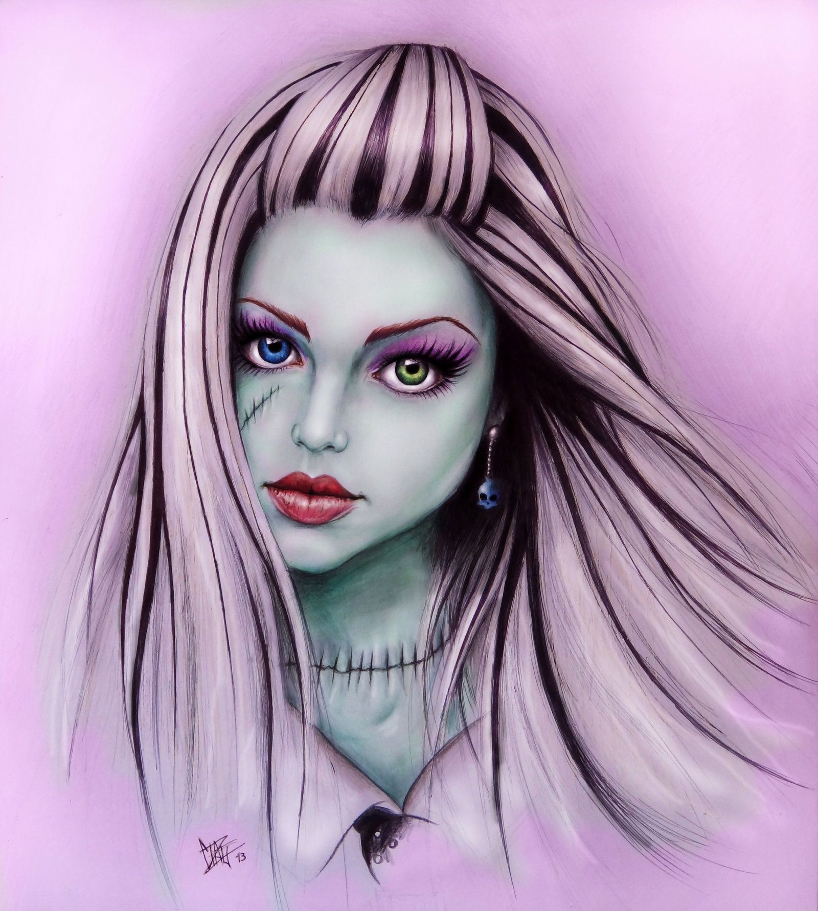Frankie Stein by Xibira.deviantart.com on @deviantART | Monster high ...