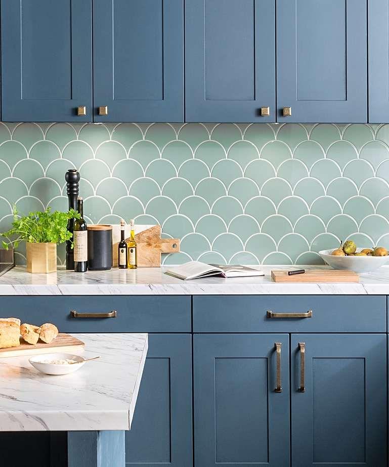 syren fresh sage tile topps tiles cottage kitchen tiles green tile on kitchen interior tiles id=91077