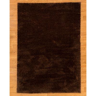 Natural Area Rugs Merida Dark Brown Area Rug Rug Size: 8' x 10'