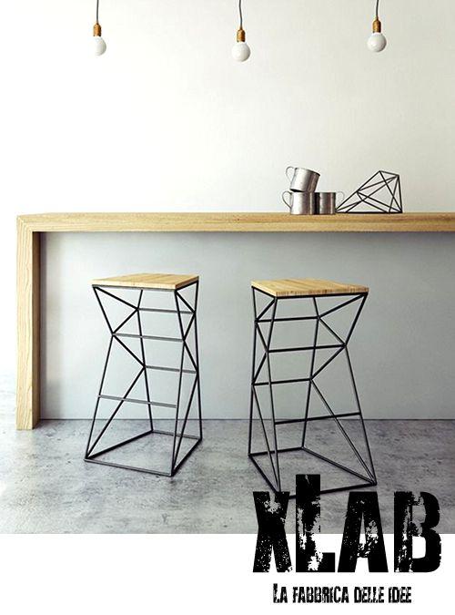 Tavolo consolle da cucina o ingresso in legno massello slim ...