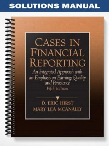 cases in financial reporting solutions guide