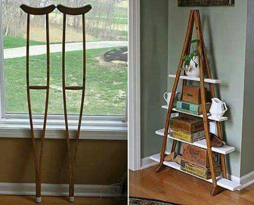 Old crutches