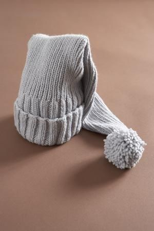 Stocking Cap Great Idea In School Colors Ribbing In One Color