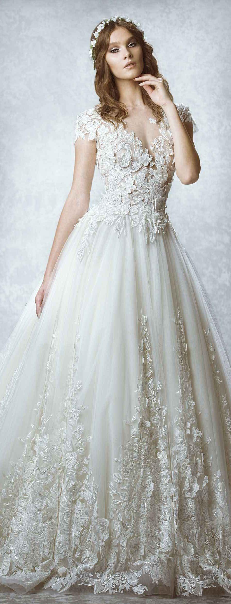 Zahair murad wedding dress novias encajes pinterest